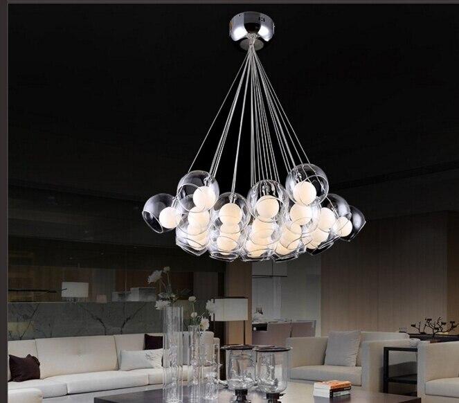 Lampadario In Vetro moderno per Sala da pranzo Personalizzato ...