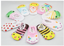 3 pairs Cute Lovely Infant Toddler Baby's Cartoon Pattern Ankle Funny Socks New