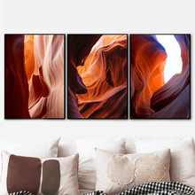 Grand Canyon Red Rock Wall Art Canvas Painting Nordic Posters And Prints Decoration Pictures For Living Room Salon Club Bar
