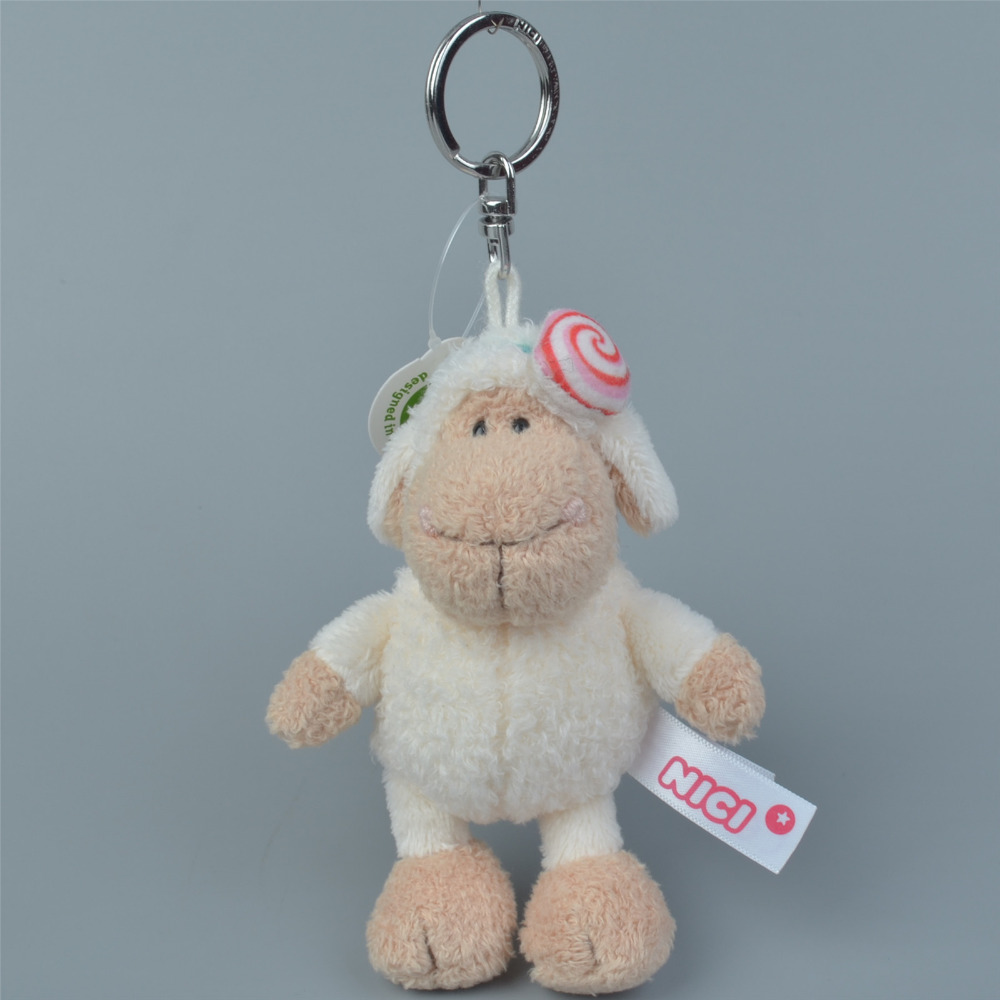 3 Pcs Suger Sheep Small Plush Pendant Toy, Kids Doll  Keychain / Keyholder Gift Free Shipping
