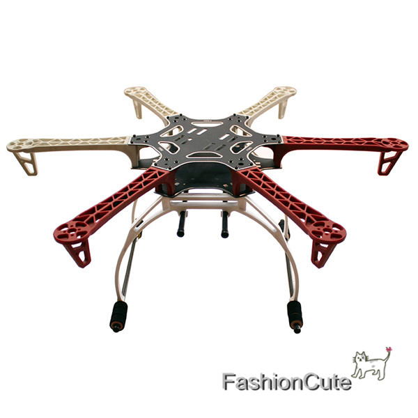 FPV F550 Hexa Frame HexaCopter PCB with Landing Gear Gimbal Support Battery Plate for DJI Flamewheel F550 HJ550