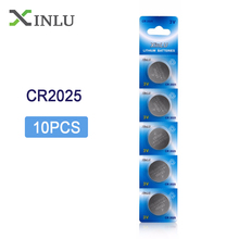 Free shipping+Coin Battery Best Selling + 10PCS * CR2025 ECR2025 DL2025 BR2025 2025 KCR2025 L12