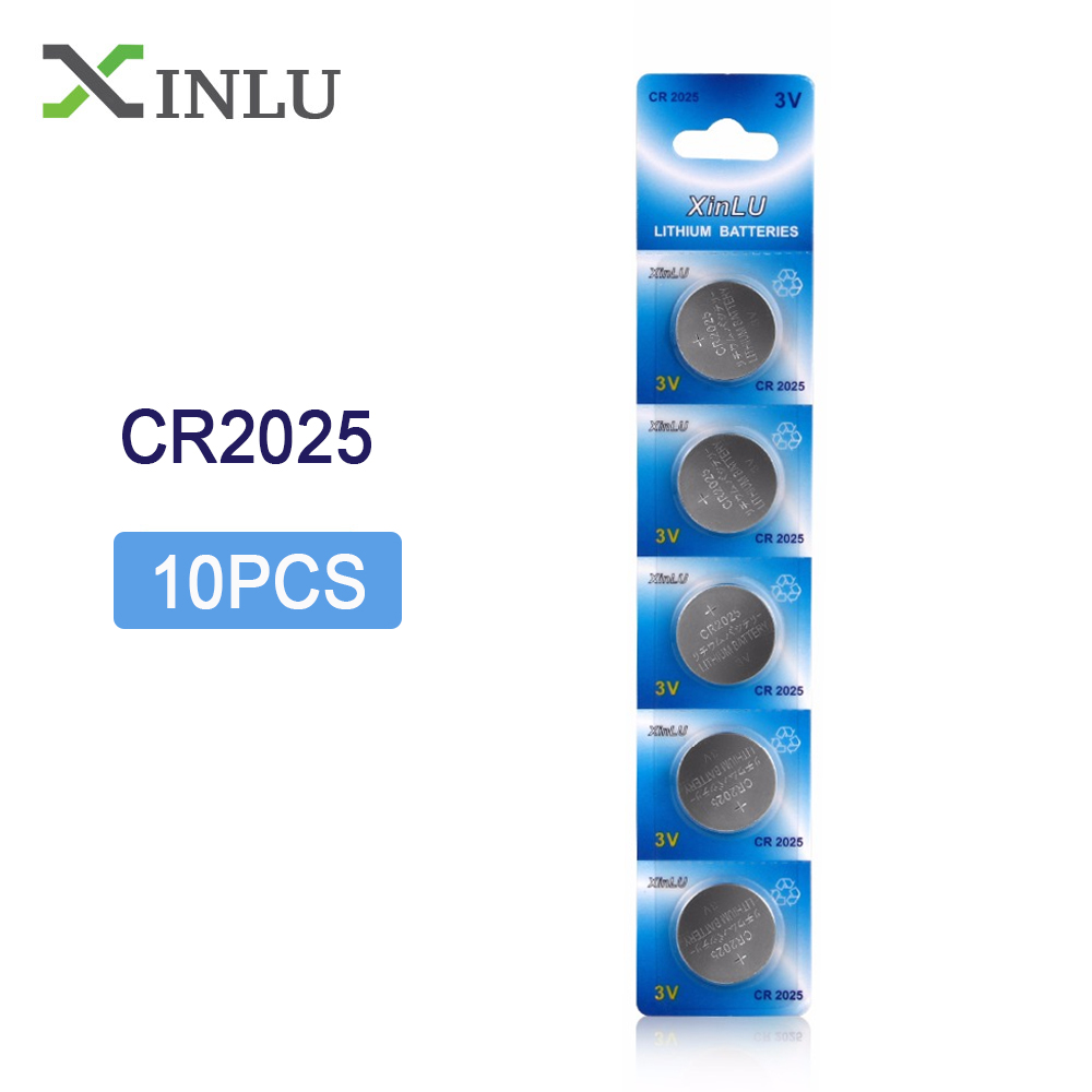 10PCS/Lot <font><b>CR2025</b></font> ECR2025 DL2025 BR2025 2025 KCR2025 L12 Button cell coin <font><b>battery</b></font> for watch,Cosmosnewland <font><b>battery</b></font> image