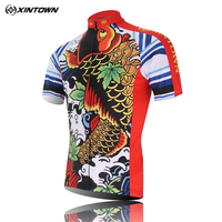 Xintown Men S Cycling Clothing Summer Short Sleeve Cycling Jersey Mtb Bike Jersey Quick Dry Bicycle