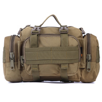 MOLLE Panel 3 Functions Waist Shoulder Pack Bag Ultra Light Hunting Soldier Ultimate Stealth Heavy Duty