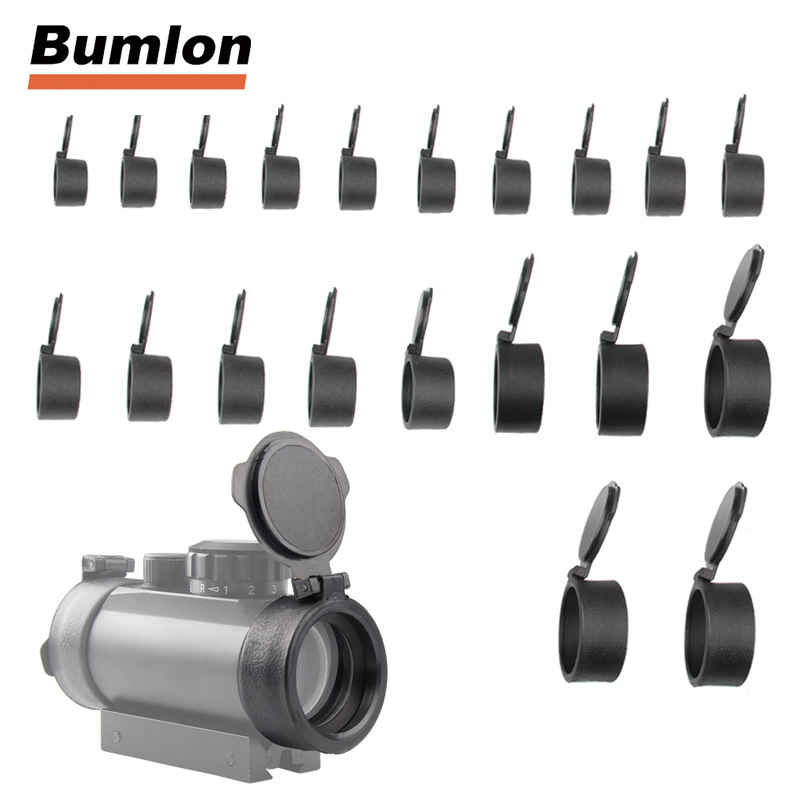 1 Piece 25.4mm to 53mm Rifle Scope Quick Flip up Cap Lens Cover Spring Protection Caliber Eye Protect Objective Cap HT37-00421 Piece 25.4mm to 53mm Rifle Scope Quick Flip up Cap Lens Cover Spring Protection Caliber Eye Protect Objective Cap HT37-0042
