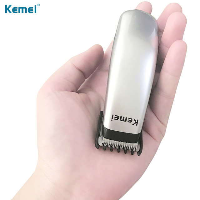 Kemei KM-666 Electric Hair Clipper Mini Hair Trimmer Cutting Machine Beard Barber Razor For Men Style Tools Professional Cutter