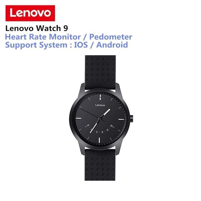 Lenovo שעון 9 Bluetooth Smartwatch Bluetooth גשש כושר קצב לב צג חכם שעון שיחת תזכורת עבור IOS אנדרואיד