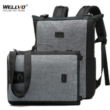 Men Shoulder Bag Male Multi-function Backpacks Leisure Laptop Bag Business Large Lightweight Waterproof Travel Backpack XA183ZC