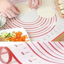 Антипригарный силиконовый коврик для выпечки тефлоновый коврик термостойкая посуда для выпечки теста для пиццы коврик для выпечки Кухонные приспособления инструменты для кухни