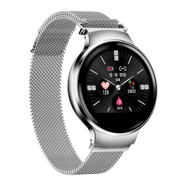 H5 Smart Watch Women Heart Rate Monitor Calling Information reminder Smartwatch Bluetooth Connect For Android IOS Smart Phone