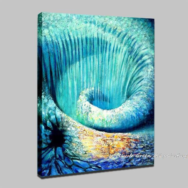 100% Original Handpainted Abstract Oil Painting On Canvas Wall Decor Art Painting Picture For Home Decoration Wall Picture