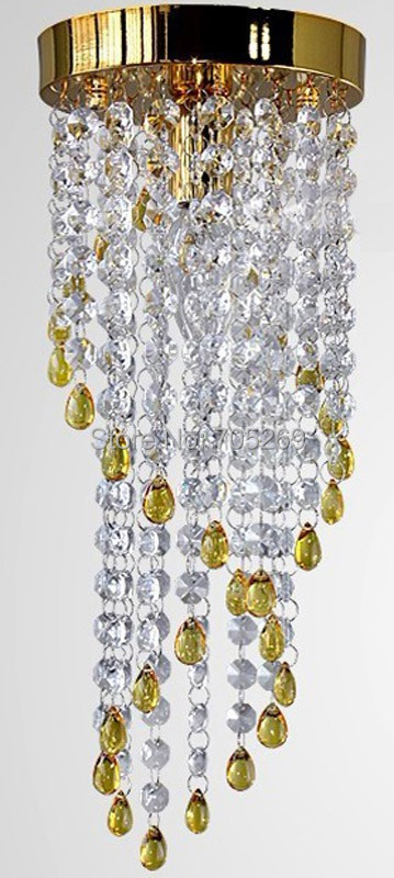 Free shipping NEW 2014 modern crystal ceiling Chandelier balcony crystal lighting