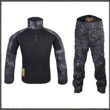Typhon Gen2 Soldier Combat uniform Tactical gear shirt and pants Army BDU set TYP EM6927