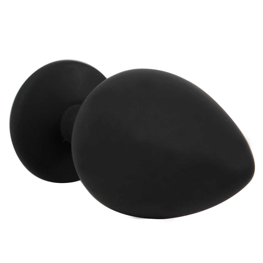 IKOKY Strass Butt Plug Próstata Massageador Erótico Brinquedos Sexuais Quentes para homens Mulher Produtos Para Adultos Anal Plugue Anal Silicone Tubo S M L