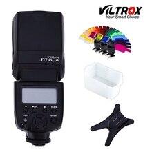 Viltrox JY-680A Universel LCD Flash Speedlight + Bounce Diffuseur + Couleur film pour Canon Nikon Pentax Olympus Caméras