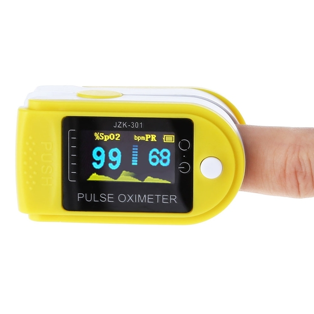 Pro Oled Instant Read Digital Fingertip Pulse Oximeter Spo2h Health Monitoring Display Kids Adult Health Care Checker Pulse1