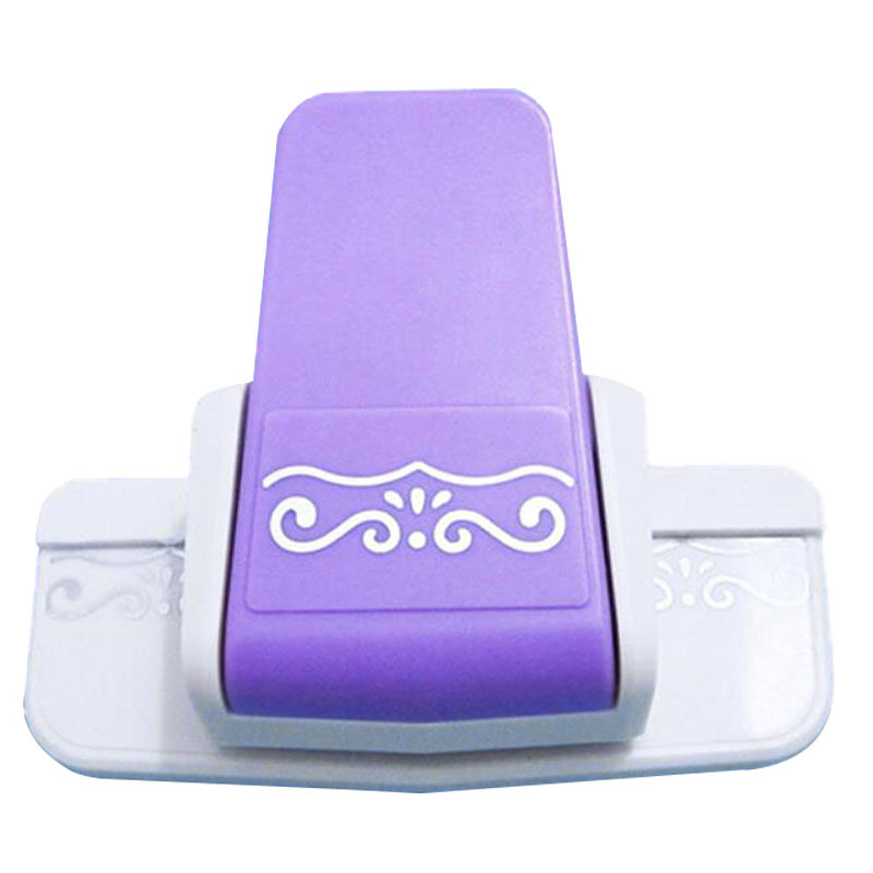 New border punch S flower design embossing Punch scrapbooking handmade edge device DIY paper cutter Handmade Craft gift Wishful embossing diy corner paper printing card cutter scrapbook shaper small embossing device hole punch kids handmade craft gift yh31