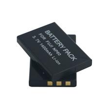 1400mAh NP-60 FNP60 NP60 SLB 1137 1037 CNP-30 K5000 D-Li2 Li-20B Battery for Fujifilm F50I F501 F401 ZOOM F410 F601 F601Z