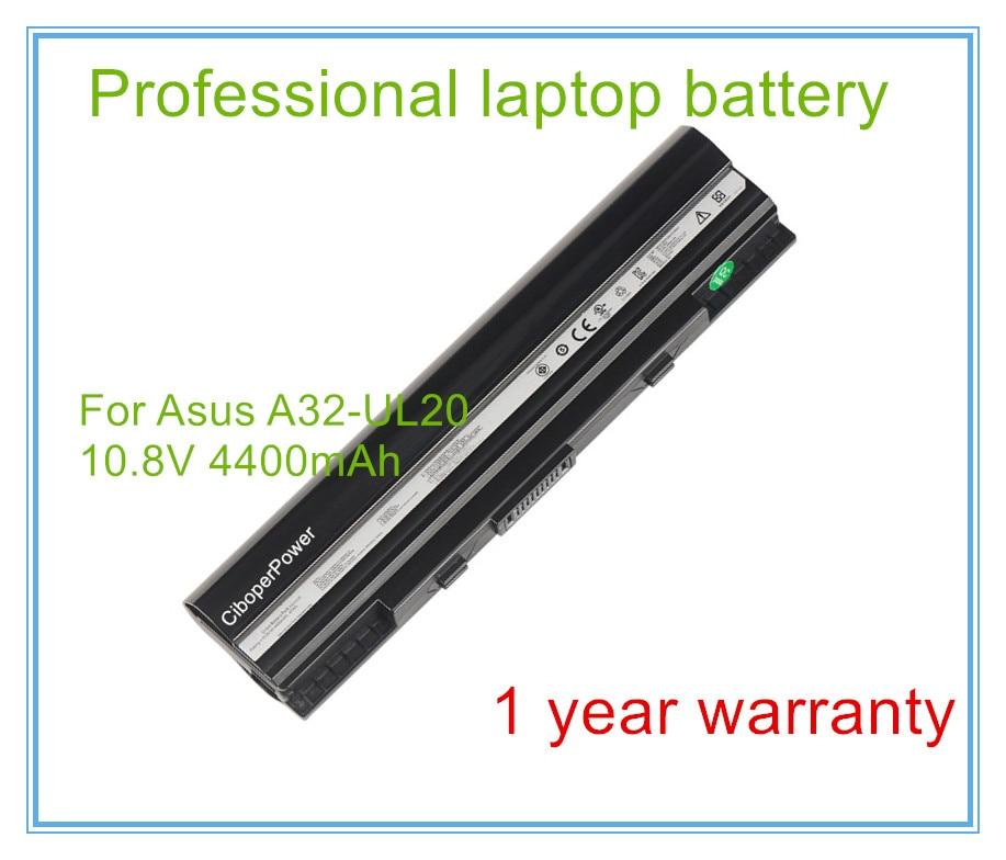 4400mAh portátil Original batería A32-UL20 para 1201 1201HA 1201N 1201T UL20 UL20A UL20G UL20VT A31-UL20
