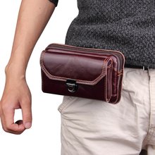 Чехол для мобильного телефона Samsung Galaxy S8 /S8 Plus/Note 8, новый чехол из натуральной кожи с зажимом для ремня, поясная сумка для iPhone