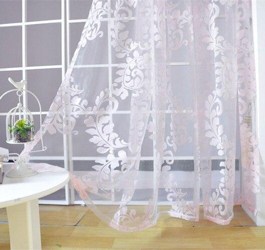 US $9.16 42% di SCONTO NAPEARL Trasporto libero rosa di tulle tenda per  camera da letto della ragazza tessuti trasparenti per finestra in NAPEARL  ...