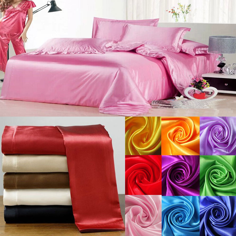 100% Luxury Silk duvet cover soft silk satin color bedding set bedclothes,sabanas,bed linen home textile,bed flat sheet100% Luxury Silk duvet cover soft silk satin color bedding set bedclothes,sabanas,bed linen home textile,bed flat sheet