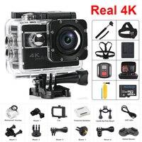 Оригинальная Экшн камера H68 ночного видения Ultra HD 4 K/25fps WiFi 2,0 170D подводный водостойкий шлем видео запись камера s