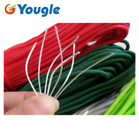 YOUGLE 10 pcs/lot 550 Paracord Parachute Cord Lanyard Rope Mil Spec Type III 7 Strands 100 FT Emergency Rope FREE SHIPPING