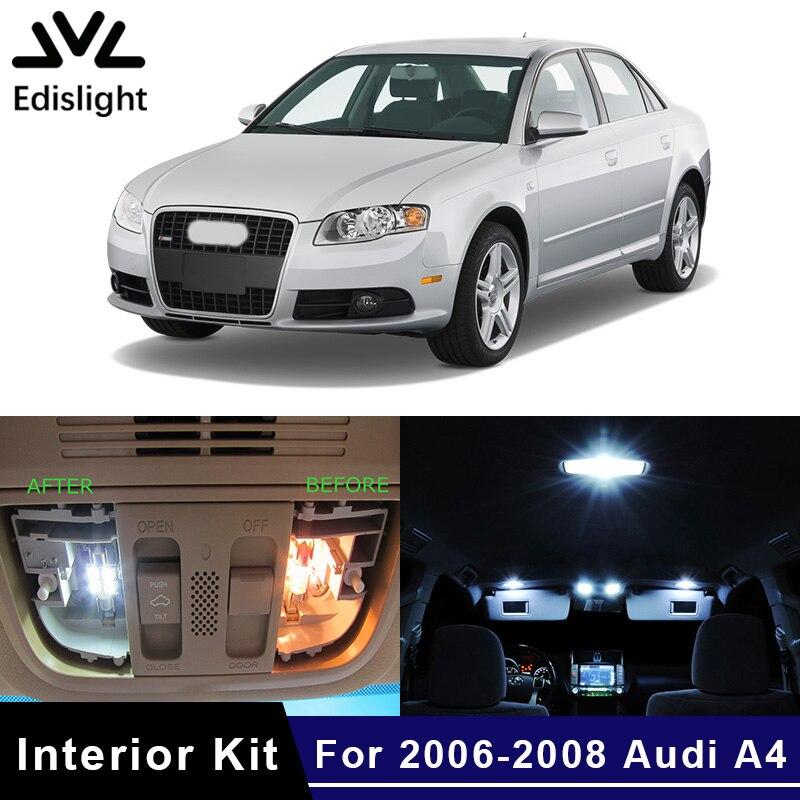Edislight 21Pcs Canbus White LED Lamp Car Bulbs Interior