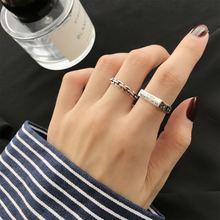Женское кольцо с квадратной цепочкой amaiyllis s925 пробы из