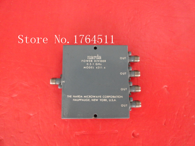 [BELLA] Narda 4311-4 0.5-1GHz A Four Supply Divider SMA