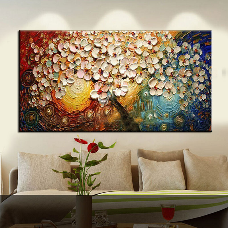 Unframed Handpainted On Canvas Wall Art Abstract Paintings
