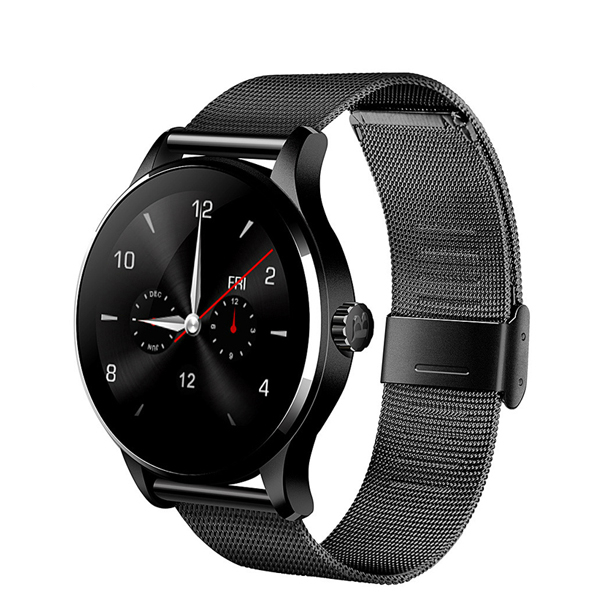 K88H Bluetooth Smart Watch 1.22 Inch IPS Screen MTK2502C Support Siri function Heart Rate Monitor SmartWatch For IOS Android bluetooth smart watch heart rate monitoring g3 plus smartwatch support siri voice control raise bright screen for android ios