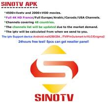 1 Year SINOTV subscription code M3U APK Europe Swedish