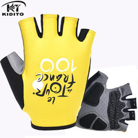 2016 Brand Tour De France Pro GEL Pad Cycling Ciclismo Gloves Mans Bike Sports Gloves Breathable