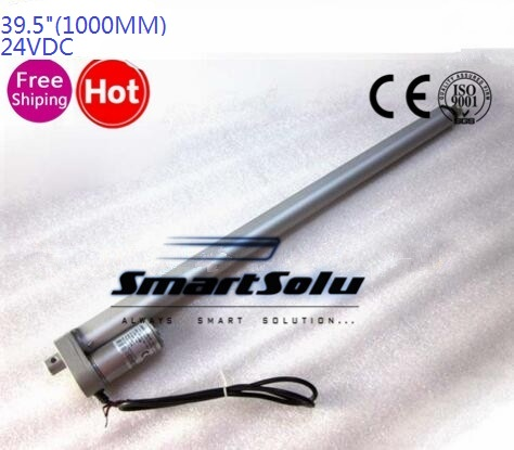 Free 24V 1000mm/39.5inch stroke 900N /198LBS micro linear actuator electric linear actuator TV lift high speed linear actuator belt driven linear motorized actuator linear actuator servo motion cnc belt driven guided linear actuator any travel length