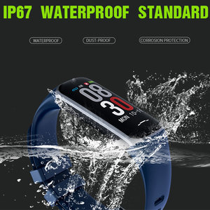 Image 3 - Smart Bracelet Band B2 Waterproof Bluetooth Wristband Female Physiology Reminder Heart Rate Monitor Fitness Tracker