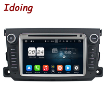 Idoing 8Core 2Din 2G+32G Android 6.0/7.1 For Mercedes/Benz/SMART Car DVD Player GPS Navigation Steering Wheel WIFI Fast Boot