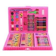 Besegad 86 шт. цветной карандаш для художника Набор Карандаш для рисования маркерная ручка кисть Инструменты для рисования набор для детского сада принадлежности для рисования