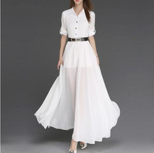 Summer dresses with flowing sleeves