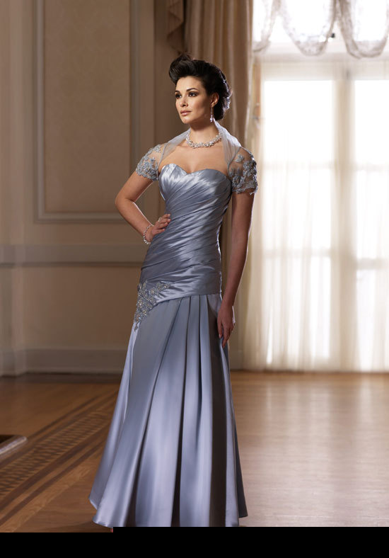 Best selling mother of the bride dress with jacket taffeta for Wedding dresses for mother of bride