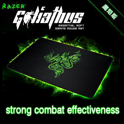 Razer Goliathus FLAME Editin Control Edition ONLY,  Standard(Medium) size Gaming mouse pad, Free & Fast Shipping.