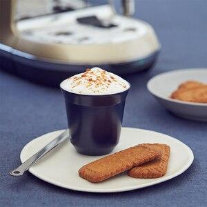Image 4 - エスプレッソマグ 80 ミリリットル 160 ミリリットル 2 のセット、ステンレス鋼のエスプレッソカップセット、絶縁茶コーヒーマグ二重壁カップ食器洗い安全