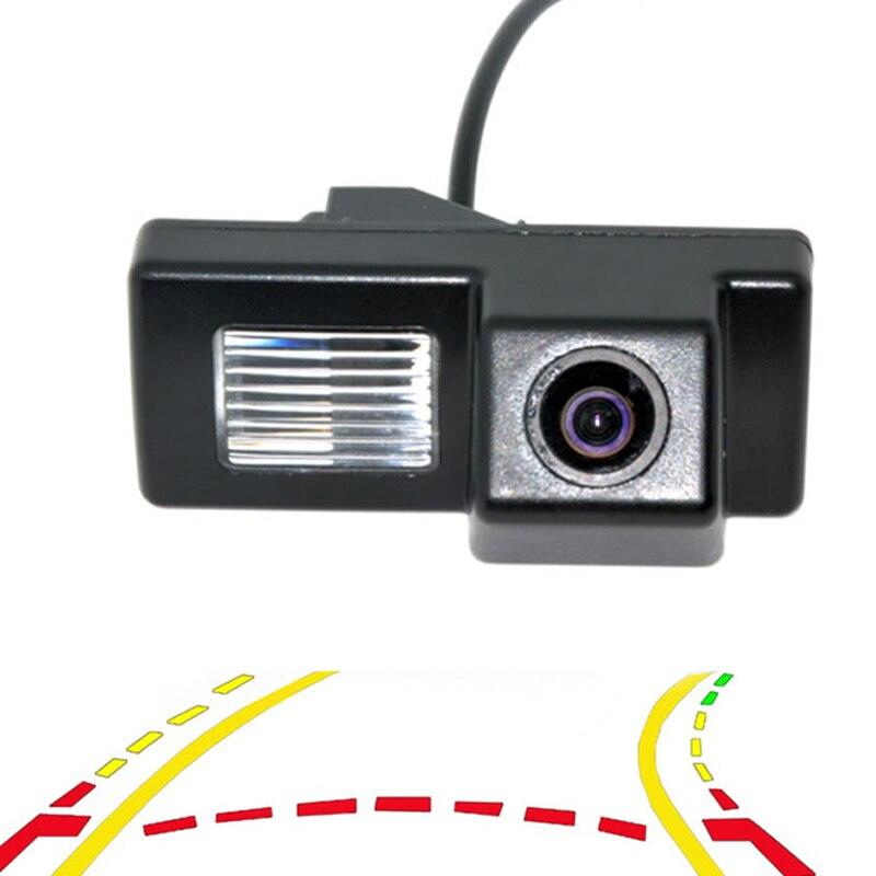 Dynamique Intelligent Trajectoire Pistes Vue Arrière de Voiture Caméra Pour Toyota Land Cruiser 100 Prado 120 Caméra de Recul De Sauvegarde
