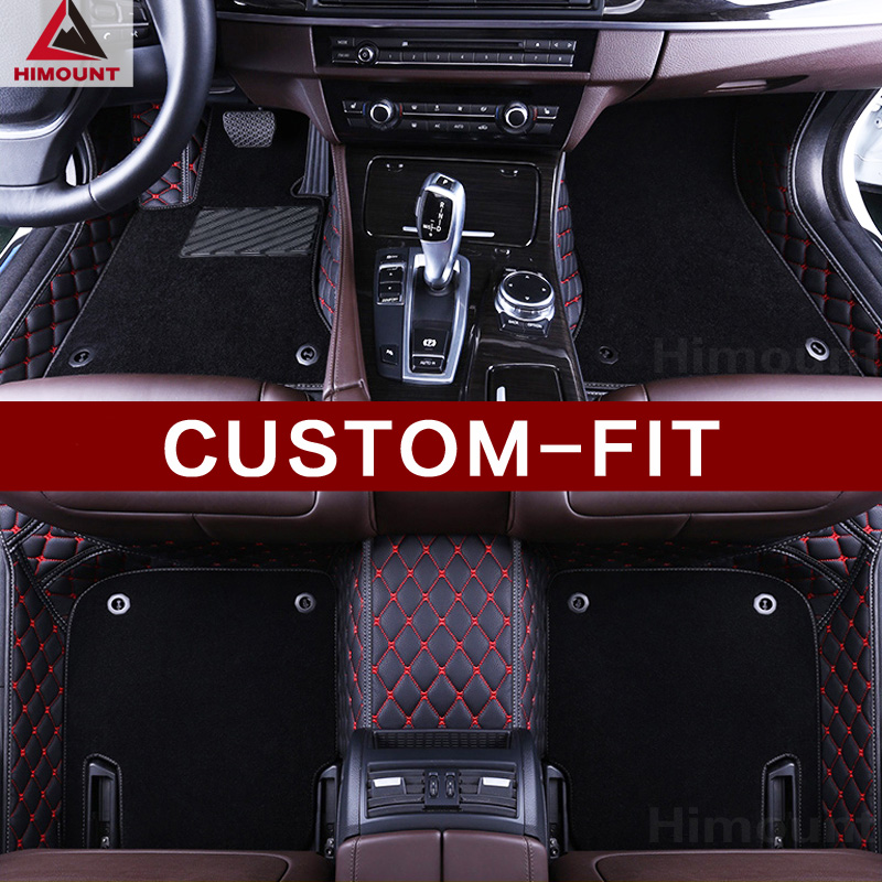 Custom fit car floor mats for Skoda Octavia A5 A4 5E Superb Rapid Yeti 3D car-styling high quality luxury carpet rug liners