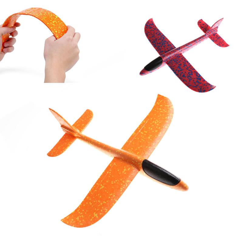 EPP Foam Hand Throw Airplane Outdoor Launch Glider Plane Kids Gift Toy Interesting Toys