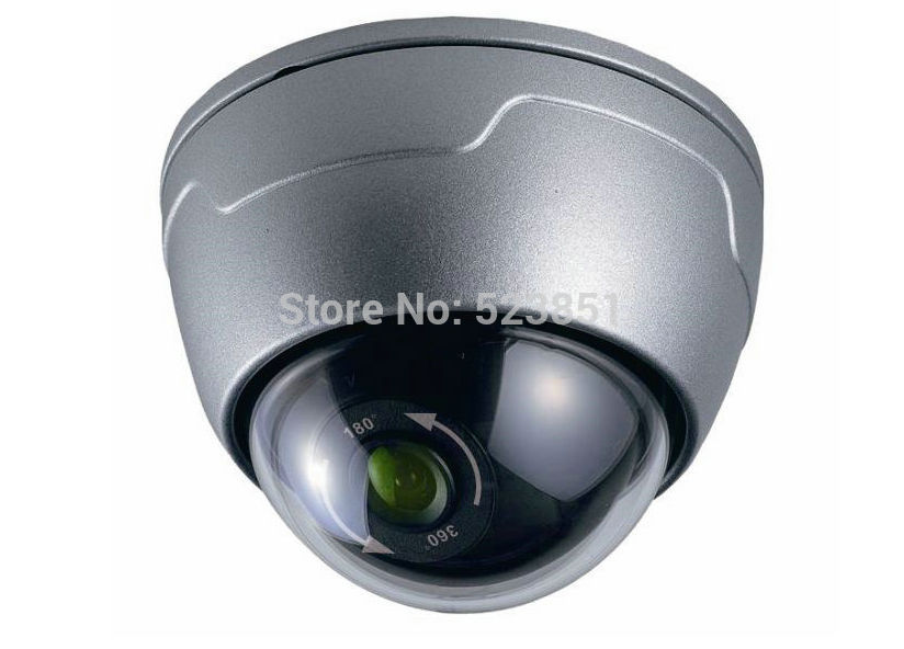 ФОТО 720P CCD Vandal-proof Panorama Wide Viewing Angle Dome Camera 720P High Resolution Color Picture Quality