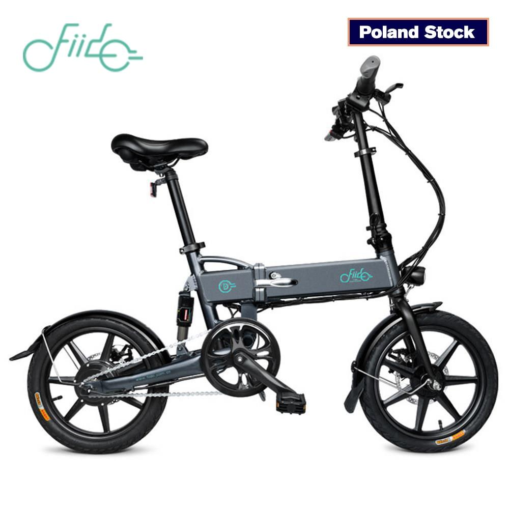 FIIDO D2 Folding Electric Bike Three Riding Modes ebike 250W Motor 25km/h 25-40KM Range e bike 16 inch tire electric bicycle