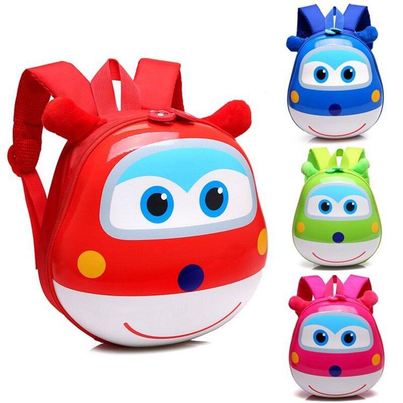 3D Cartoon Kindergarten School Bags Boys Girls Backpacks Toddler Cute Waterproof Schoolbags Easy Clean For Kids Leisure Bags